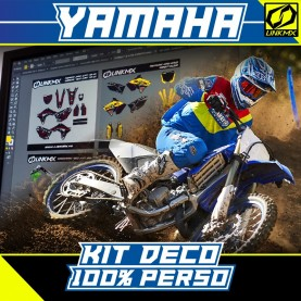 Kit Déco Yamaha MX/Enduro 100% PERSO