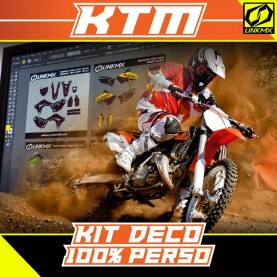 Kit Déco KTM MX/Enduro 100% PERSO