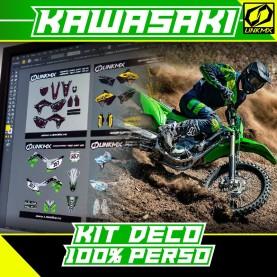 Kit Déco Kawasaki MX/Enduro 100%PERSO