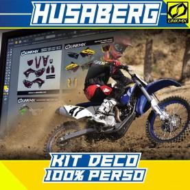 Kit Déco Husaberg MX/Enduro 100%PERSO