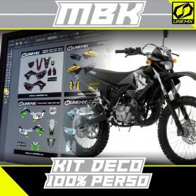 Kit Déco MBK 50cc 100 % PERSO