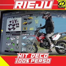 Kit Déco Rieju 50cc 100 % PERSO