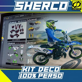 Kit Déco Sherco 50cc 100 % PERSO