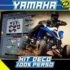 Kit Déco Quad Yamaha 100% PERSO