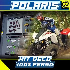 Kit Déco Quad Polaris 100% PERSO