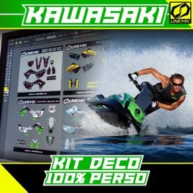 Kit Déco Jet à bras Kawasaki 100% PERSO