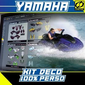 Kit Déco Jet à selle Yamaha 100% PERSO