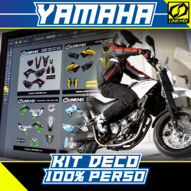 Kit Déco Moto Yamaha 100% PERSO