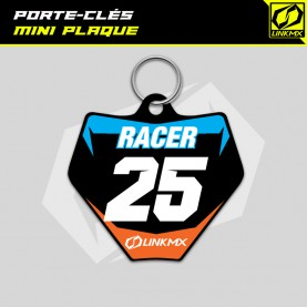 Porte-clés mini plaque motocross
