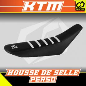 Housse de selle KTM personnalisable
