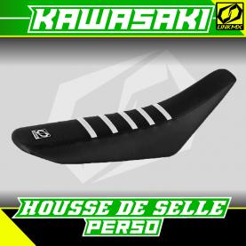 Housse de selle Kawasaki personnalisable
