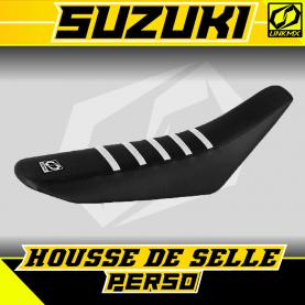 Housse de selle Suzuki personnalisable
