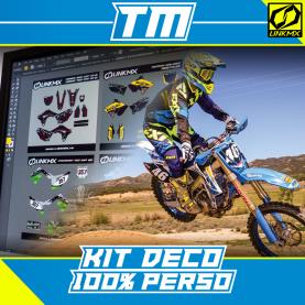 Kit Déco TM MX/Enduro 100% PERSO