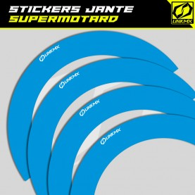 Stickers jante Supermotard