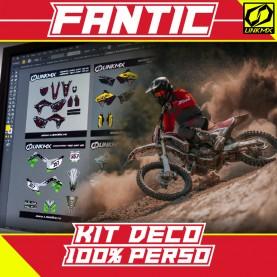 Kit Déco FANTIC MX/Enduro 100% PERSO