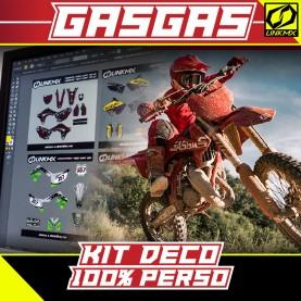 Kit Déco Gasgas 85cc 100% PERSO