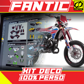 Kit Déco Fantic 50cc 100 % PERSO